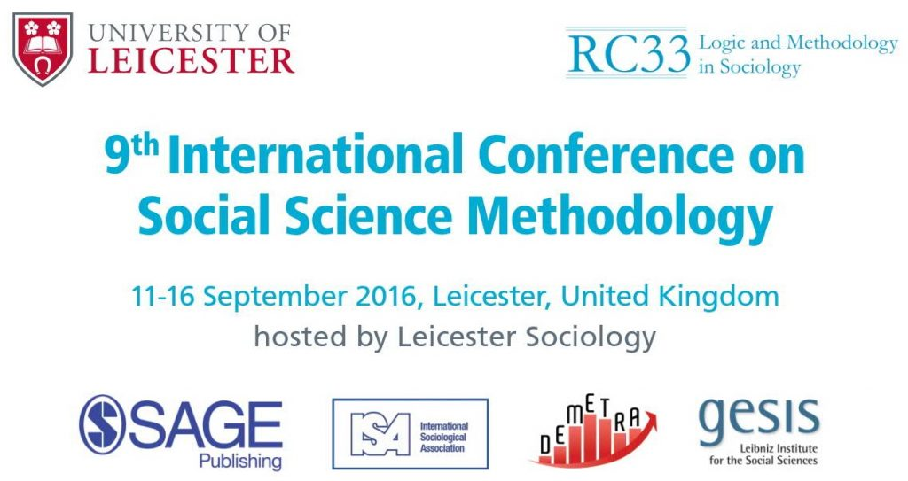 RC33 Conference 2016