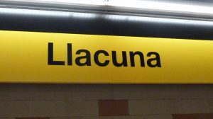 Our metro station – well suited for papyrologists!