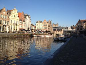 River view in Ghent
