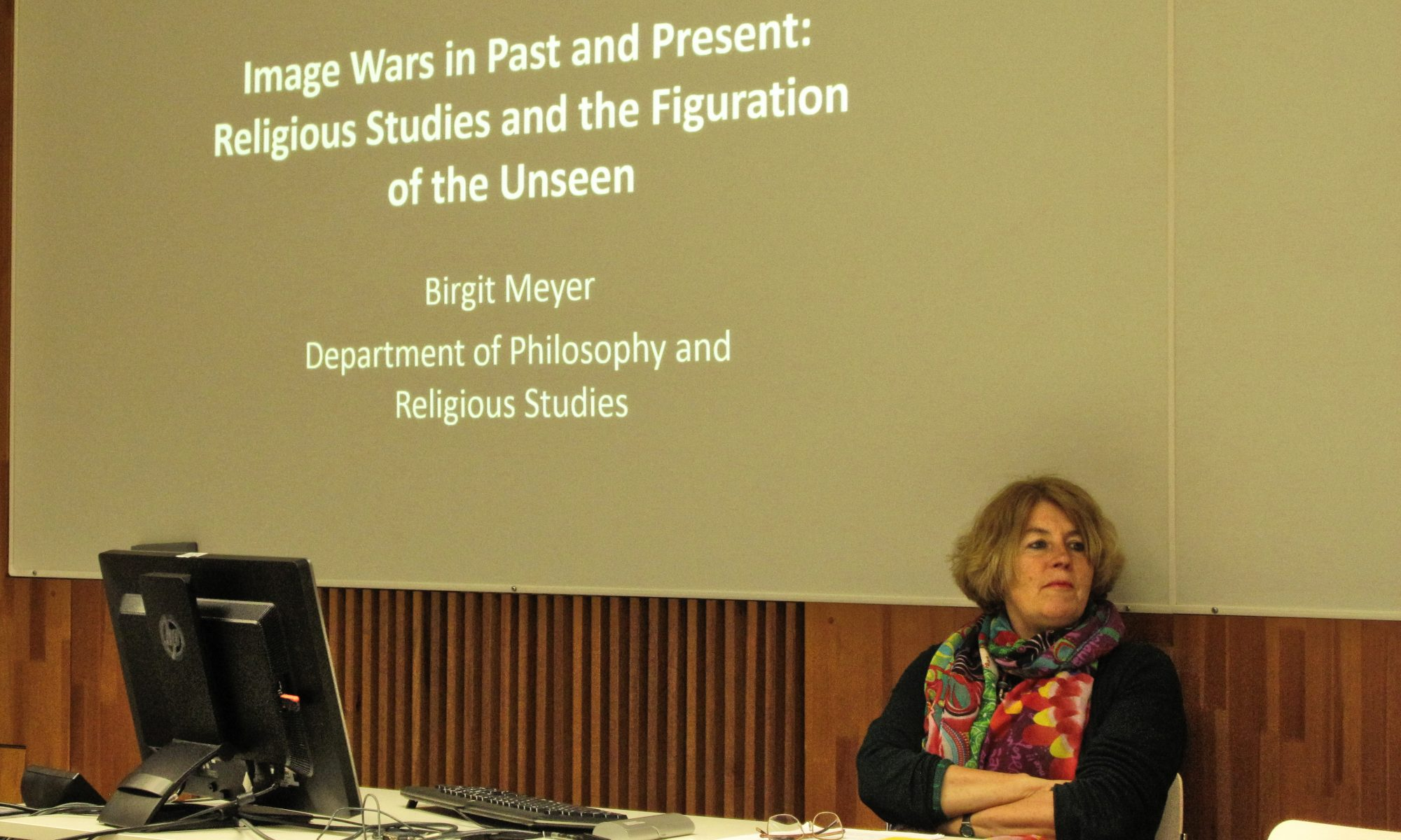 Image Wars in Past and Present: Religious Studies and the Figuration of the Unseen