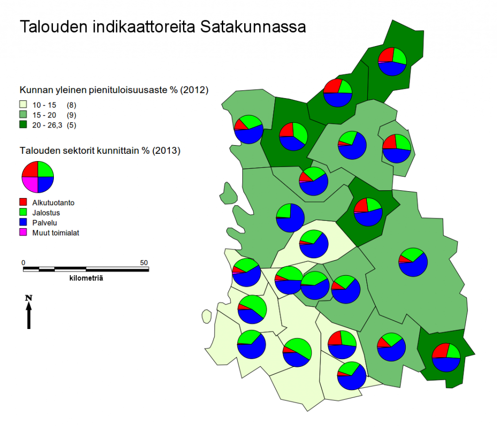 KK2_Talouden indikaattoreita Satakunnassa