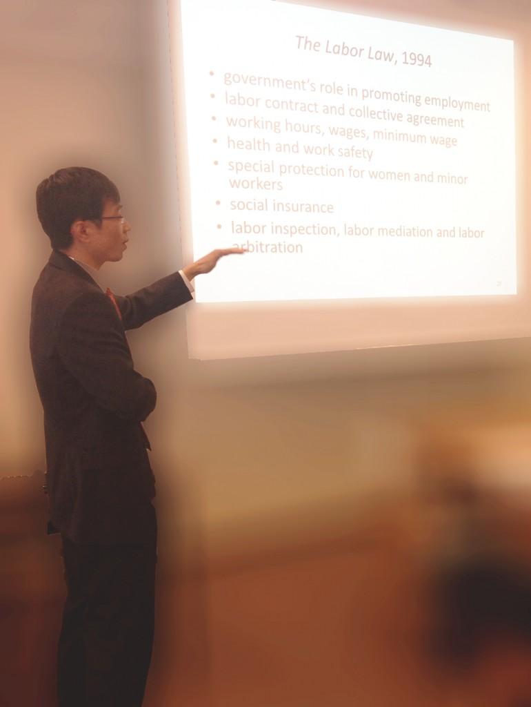 Prof. XIE Zengyi lecture