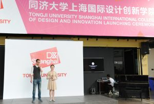 Student Representatives from Tongji and Aalto host the Launch of Shanghai D&I.