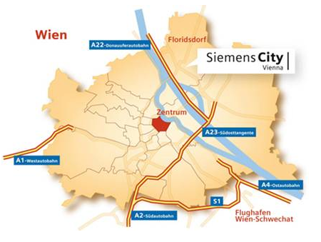 Siemens City Location