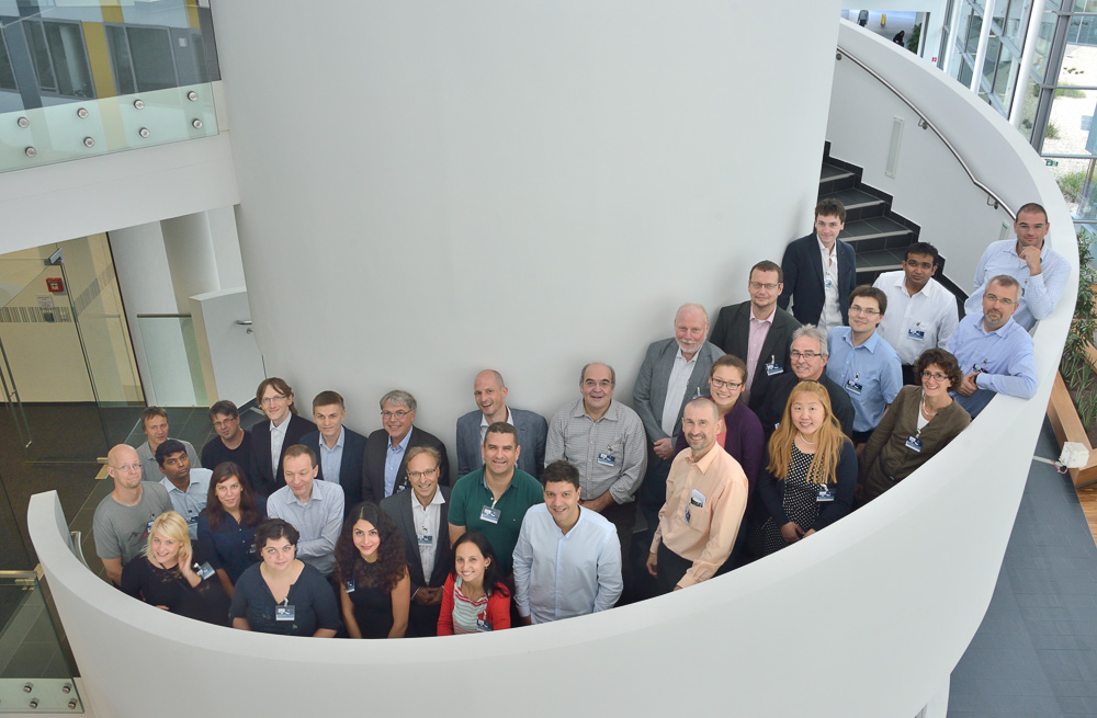 2015 Configuration Workshop group photo with surroundings