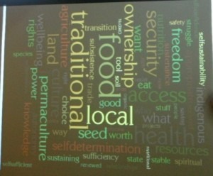 Photo 4. Word Cloud of Food Sovereignty