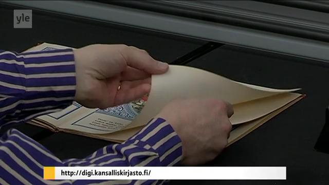 Kuvan lähde Yle Areena kohdasta 1:19 , digi.kansalliskirjasto.fi