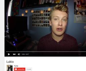 Ruudunkaappauskuva talletetusta YouTube-videosta