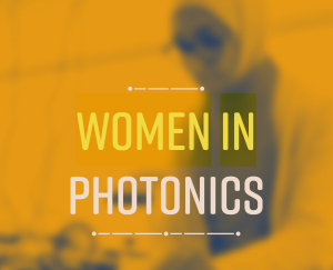 Cropped title page of Women in Photonics article from Fotoni 1/2020.