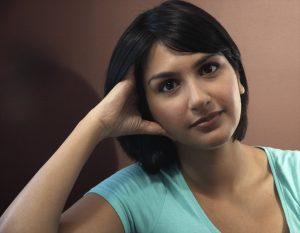 Portrait picture of Angela Saini