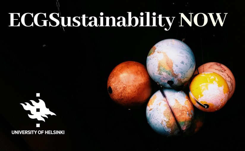 Environmental Change and Global Sustainability NOW 2018
