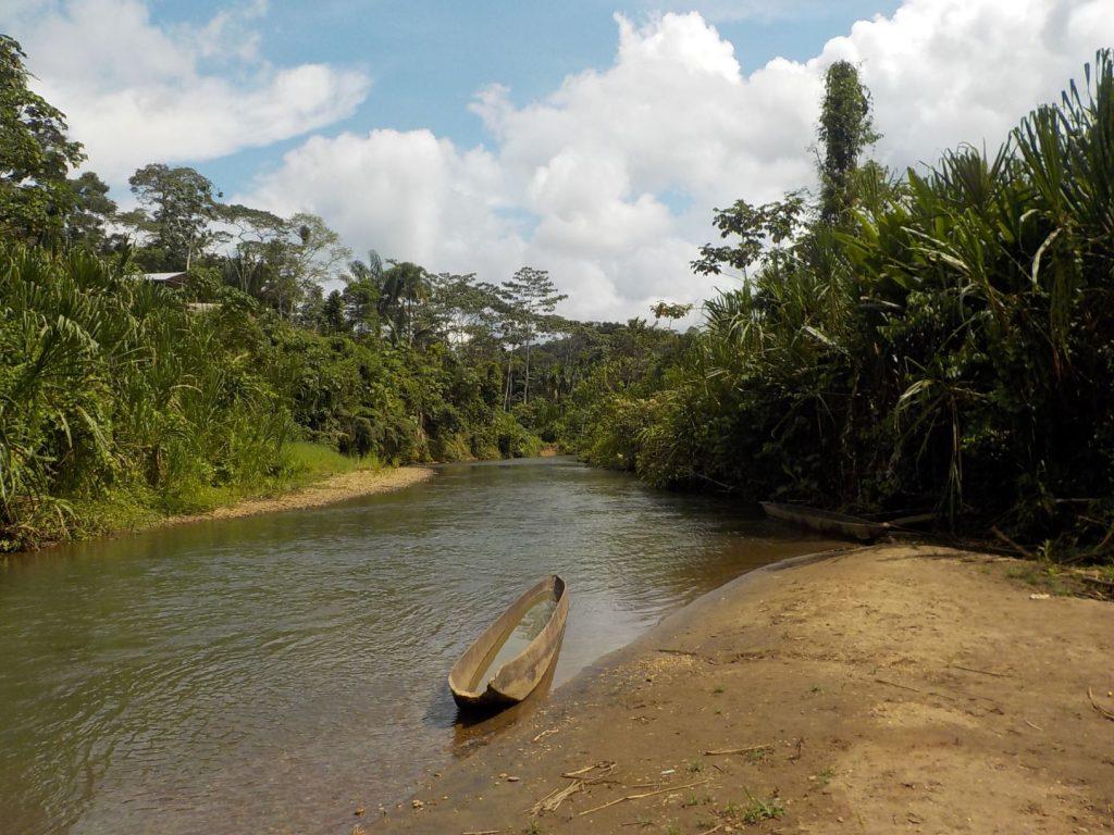 Riikka Kaukonen Lindholm: El rio Conambo, Llanchamacocha