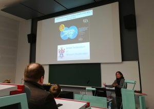 Elena Nardin keynote-luento
