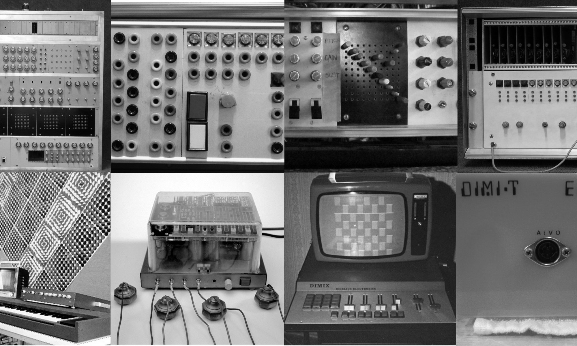 Electronic Musical Instruments by Erkki Kurenniemi