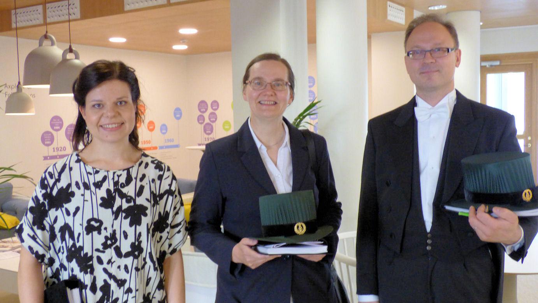 M.Sc. Johanna Lotsari-Salomaa, Prof. Päivi Peltomäki and Prof. Markus Mäkinen