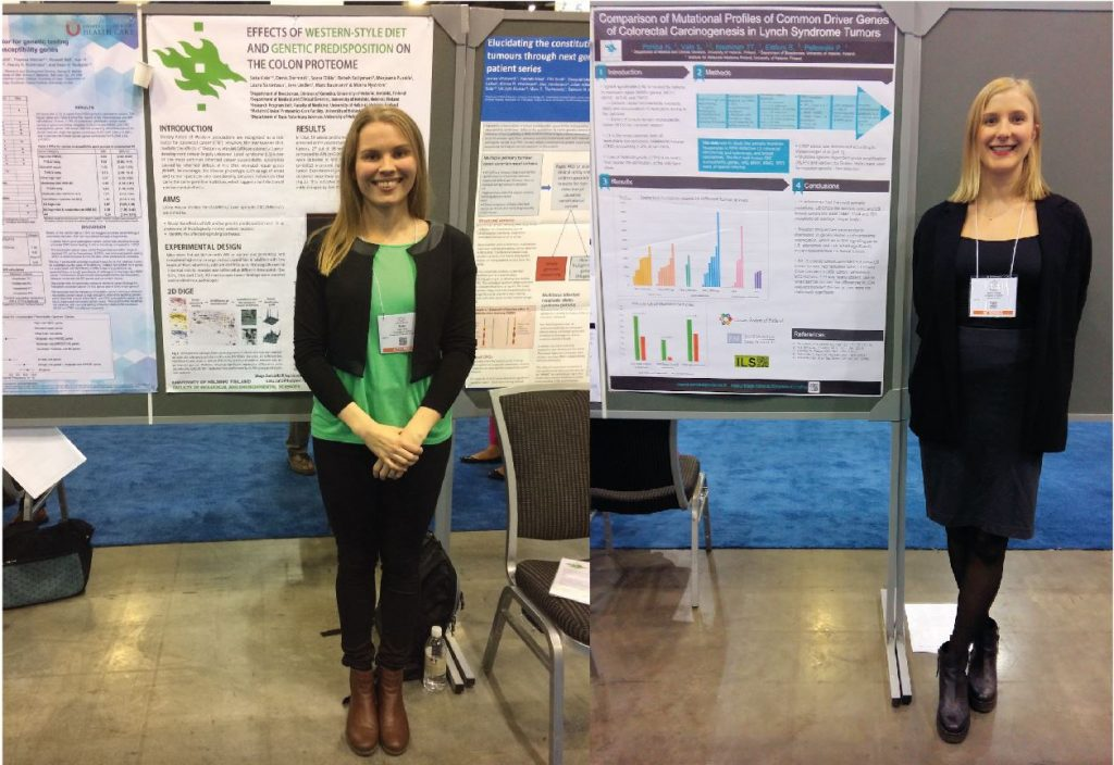 Poster presentations at ASHG by Satu and Noora