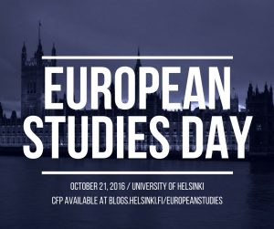 EUROPEAN STUDIES DAY