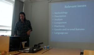 Henrik Berqvist visiting Helsinki in September 2014