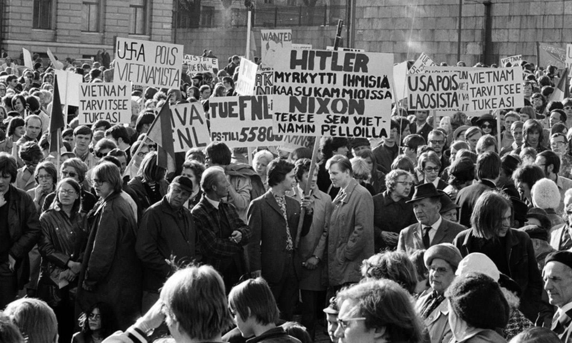 Suomi ja poliittisen väkivallan selitysmallit