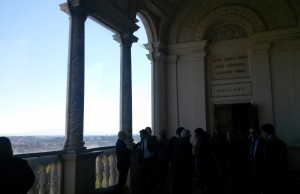Participants of the conference at Villa Lante.
