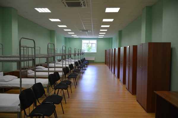 A dormitory in an UFITs in Moscow Oblast.