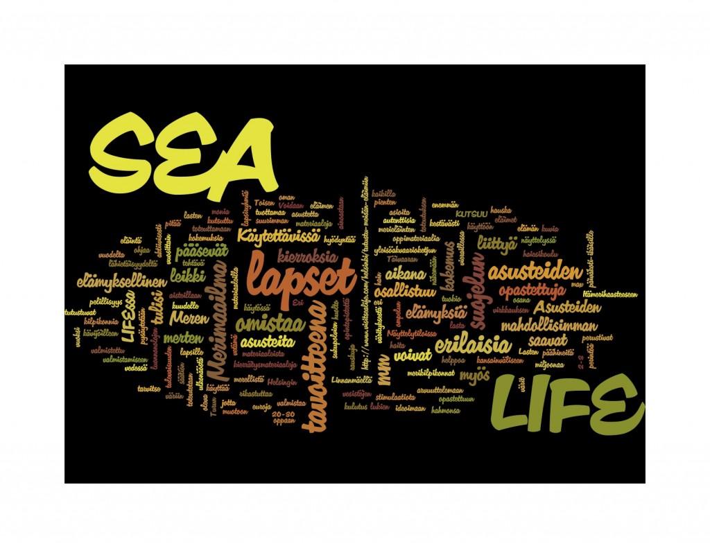 Design challenge autumn 2014 - word cloud by Wordle.
