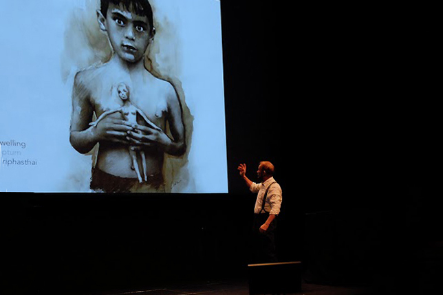 Keynote presentation by Welby Ings.
