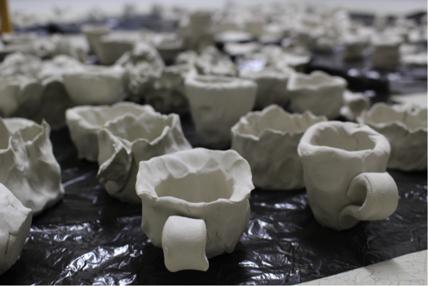 Some of the many hundreds of artefacts produced during the project. Image: Camilla Groth.
