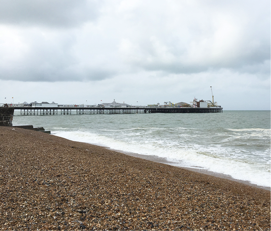 Brighton Pier in June 2016. Photo by Camilla Groth