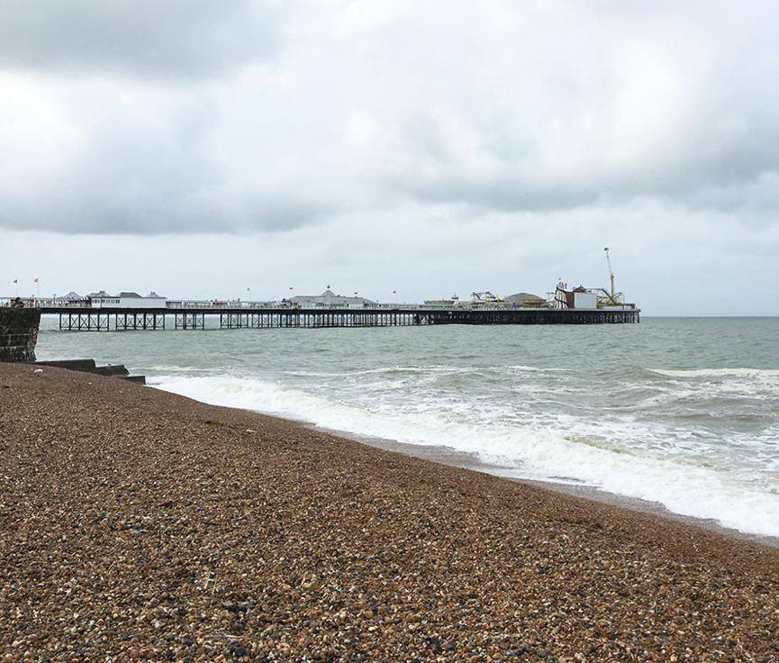 Brighton Pier in June 2016. Photo by Camilla Groth