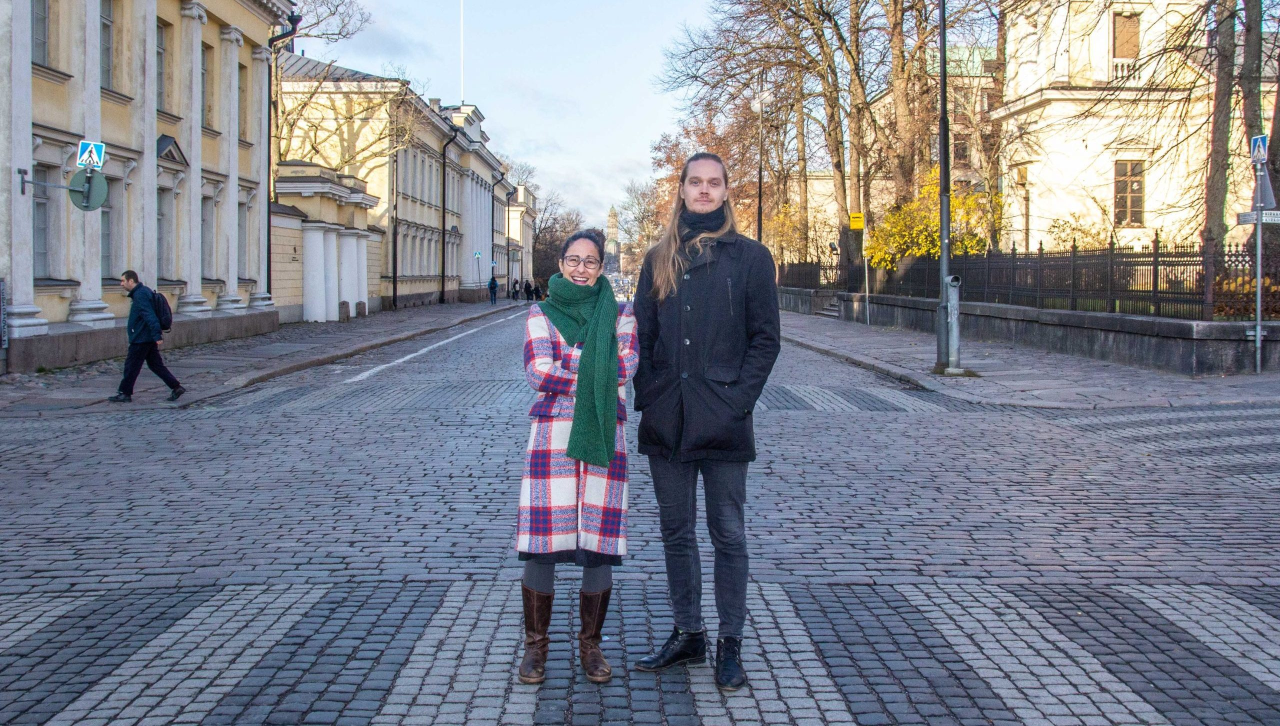 Picture of Minou Norouzi and Matti Kangaskoski