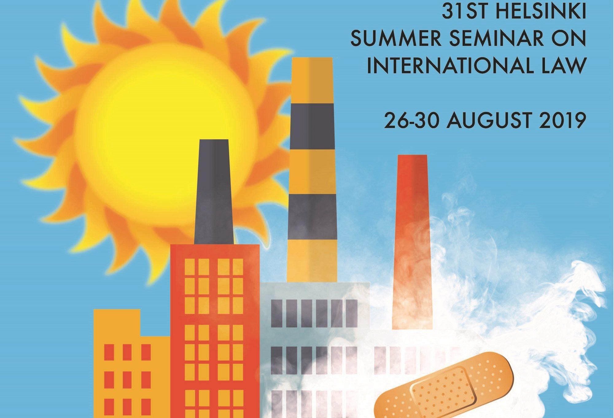 Helsinki Summer Seminar 2019