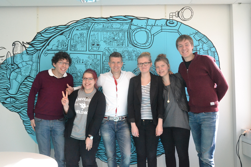 Indie Pale Games, Kiesus, Terveyskollaasi and Kiitti visited Candy Crush creator developer King.