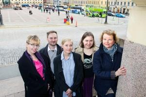 Helsinki Walks valottaa tieteellisellä asiantuntemuksella Helsingin historiaa. Kuva: Linda Tammisto