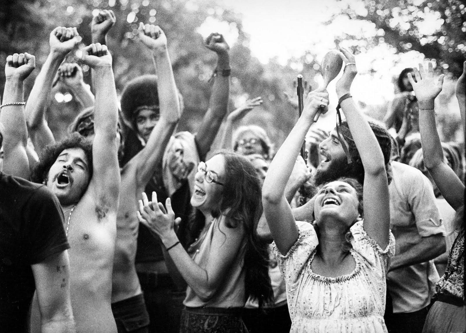 Rakkauden kesä 1967 Haight-Ashburyn kaupunginosassa San Fraciscossa.
