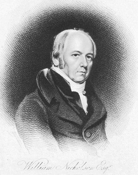 Portrait of William Nicholson.