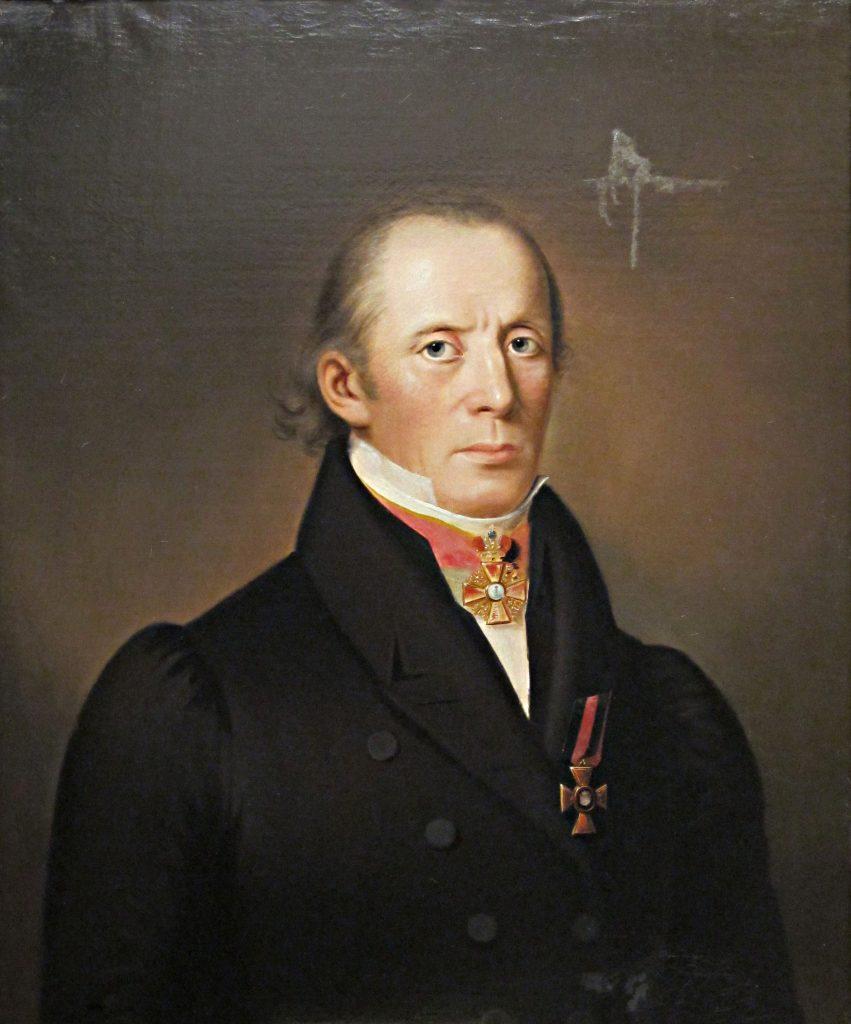Johan Agapetus Törngren muotokuvassa.