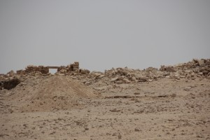 The ruins of Qasr al-Mushaysh.