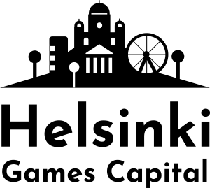 Logo for Helsinki Games Capital.