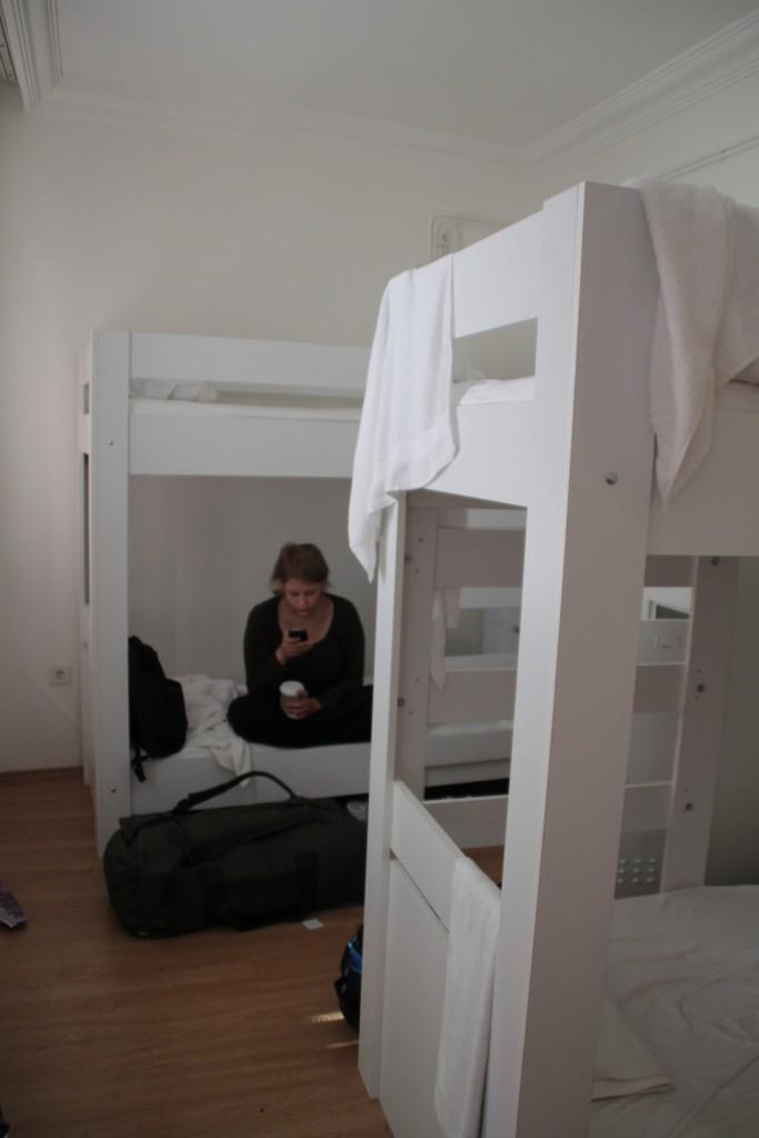 Eco Isthan var vårt hostell.