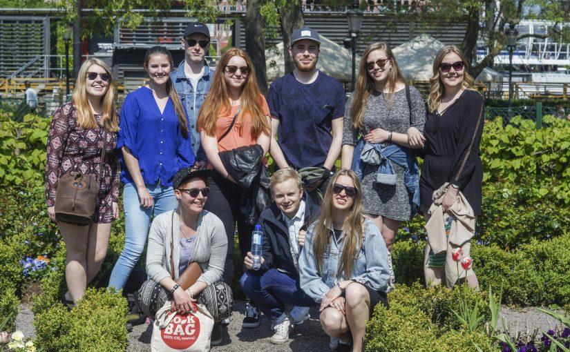 J-resan 2016 – journalisterna i Stockholm