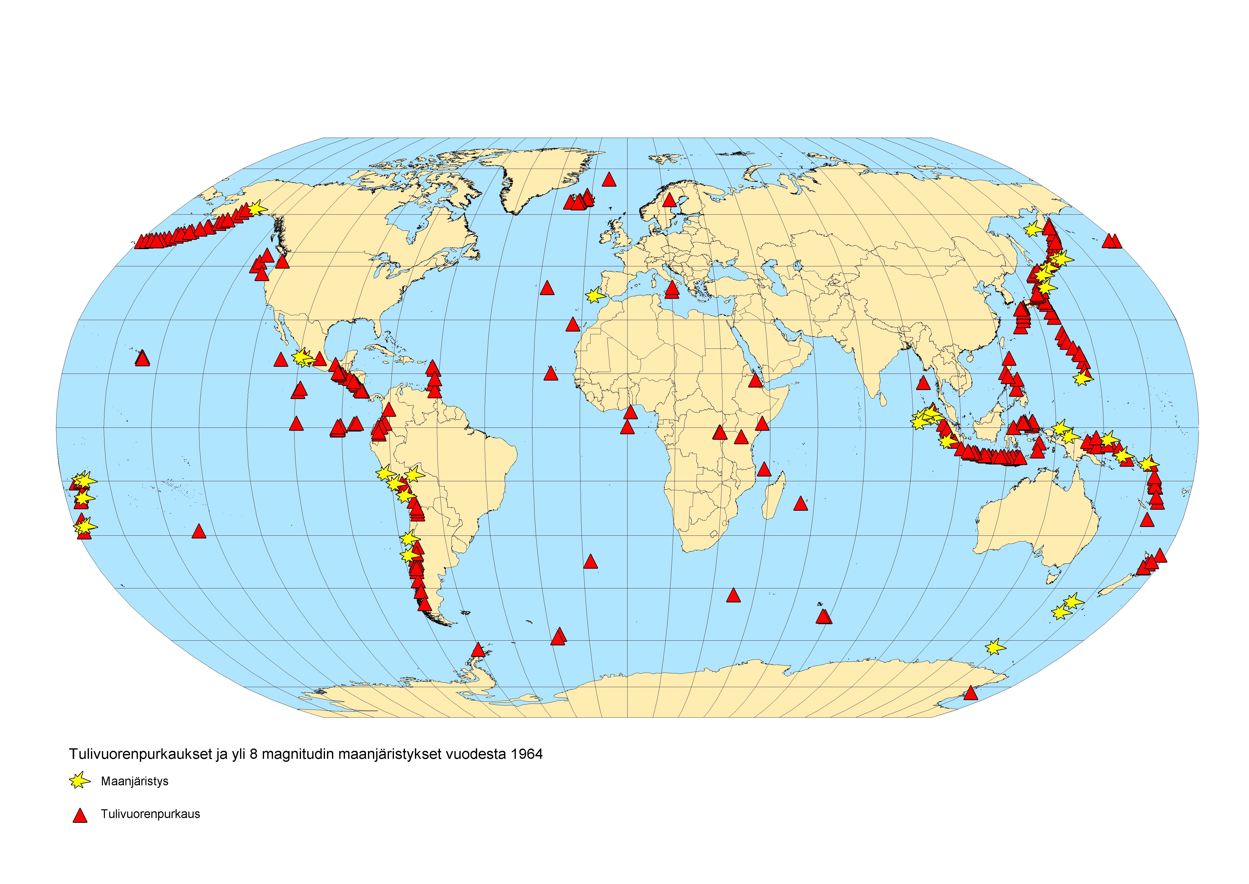 Maanjäristyksetjatulivuoret
