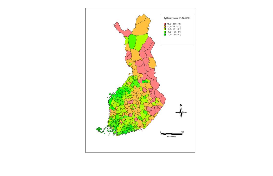 Suomityöttömyysaste2010korjattumed
