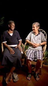 Kuva dokumenttielokuvasta Hyvästi Afrikka