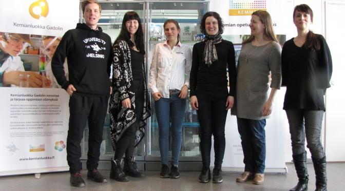 Saksalaisvahvistuksena ja odotettuna vieraana: Fiona Affeldt