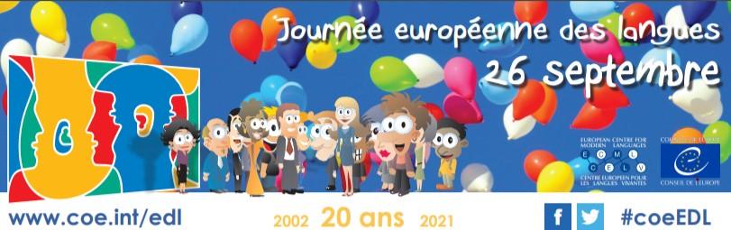 Euroopan kielten päivän logo