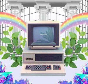 vaporwave-tietokone