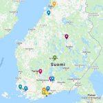 Kumppanuusmaatalouksia kartalla