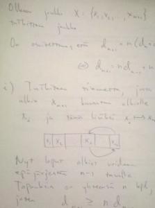 Tasolle 3 viety (tasoa 4 lähentelevä) ratkaisu