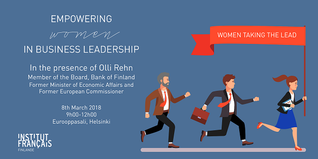 Invitation empowering women in business leadership seminar on invitation empowering women in business leadership seminar on the 8th of march 2018 at eurooppasali helsinki stopboris Images